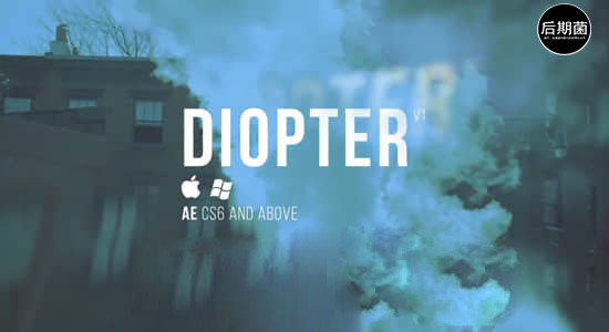 AE插件-光线折射模糊朦胧效果 Diopter V1.03 Mac/Win破解版